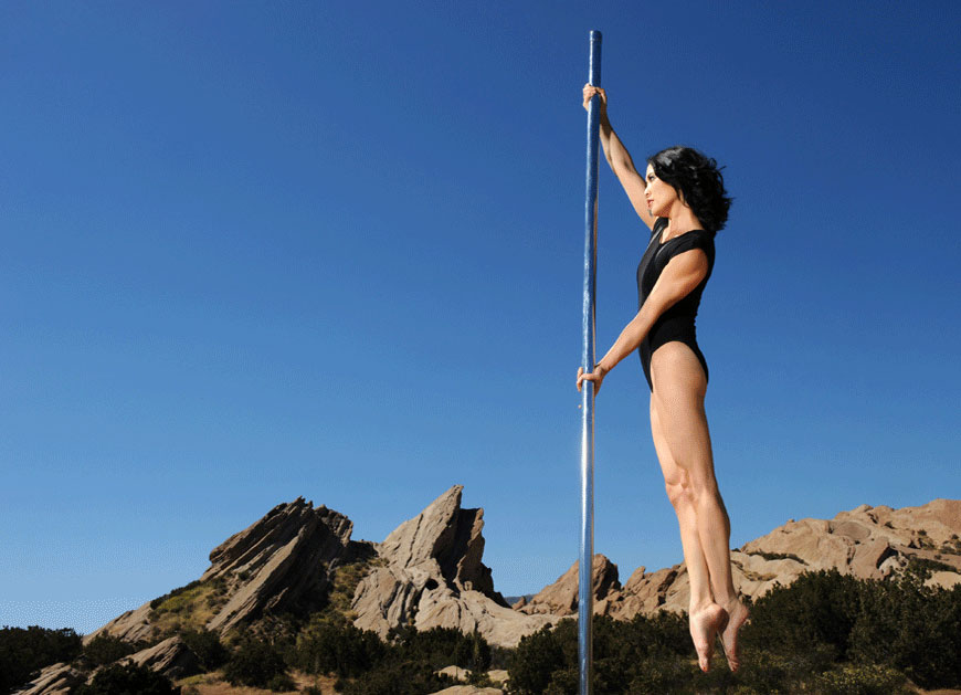 Natasha Wang - Pole Fitness/Dance Instructor