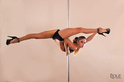 Pole Files Interview 11: Marion Crampe Pole Dancer