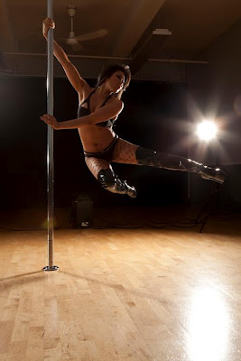 Pole Files Interview 23: Aerial Amy Pole Dancer