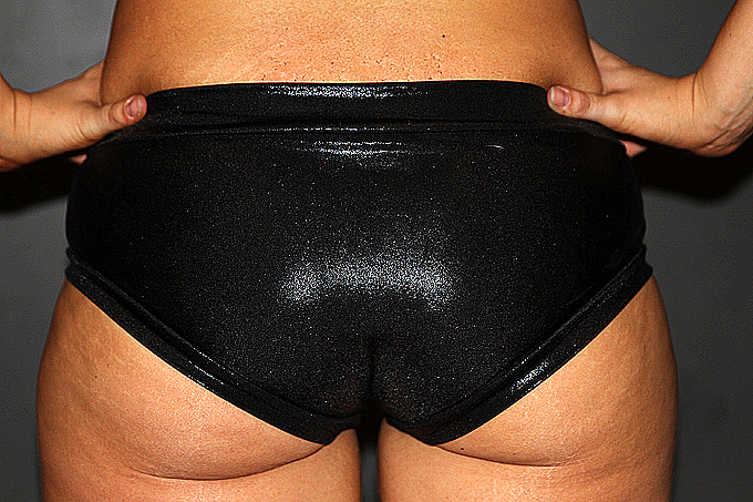 Black Sparkle Naughty Fit Shorts
