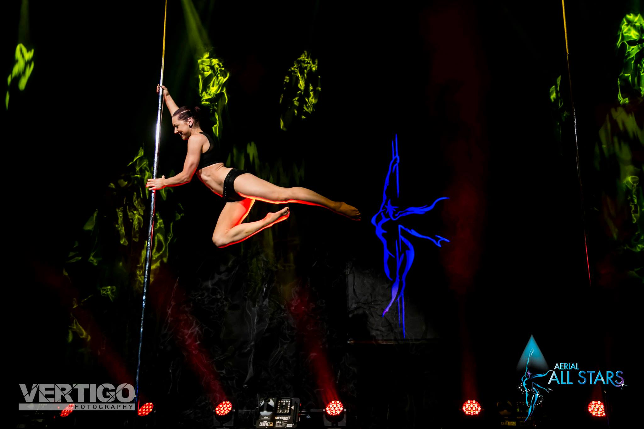 Megan Blyszak Pole Dancer Rarr designs