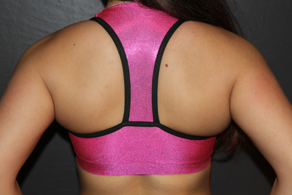 This Plunge Sports bra Rarr designs