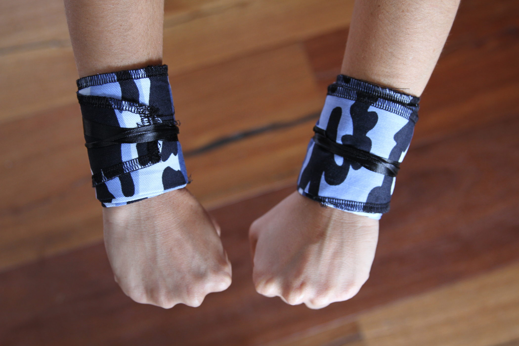 Camo Navy Strength Wrist Wraps