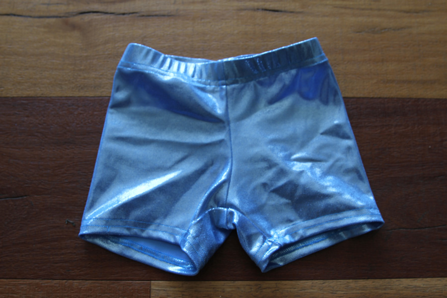 Baby Blue Sparkle Short Youth Girls