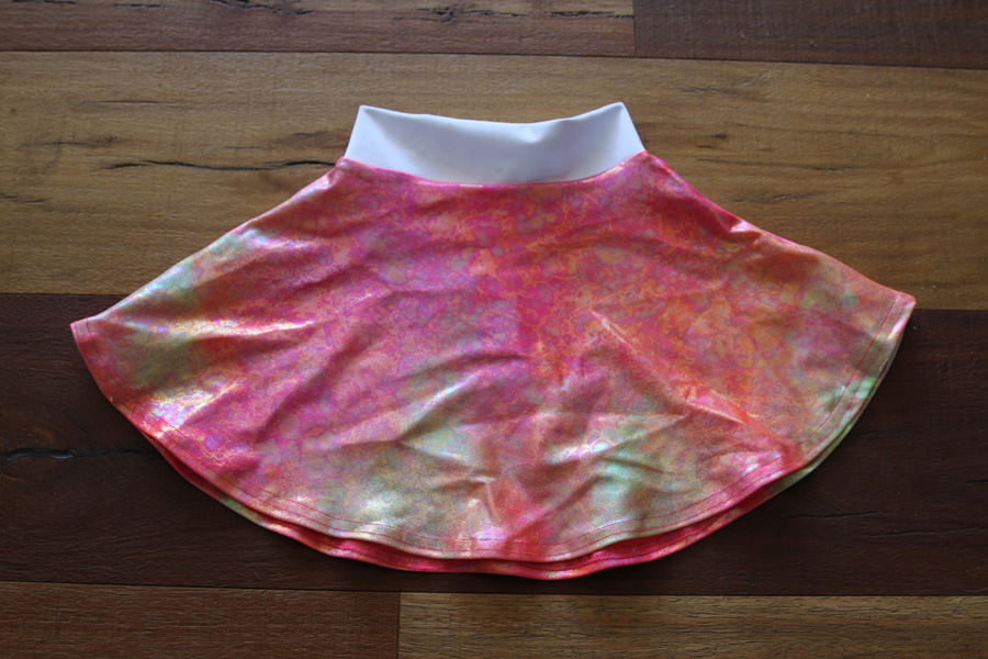 Sunset Skater Skirt Toddler Girls