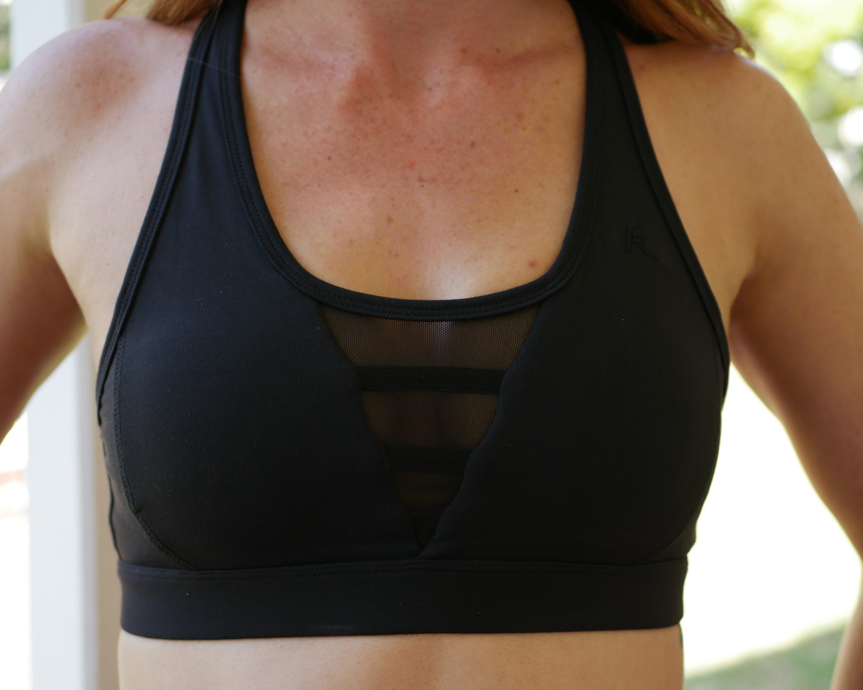 Studio Mesh Sports Bra Black