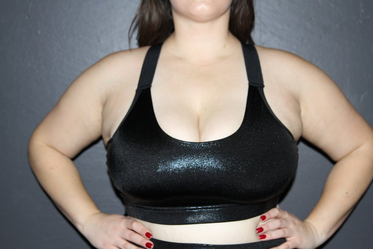 Plus Size Women's Activewear Sports Bras for Pole, Dance and Gym