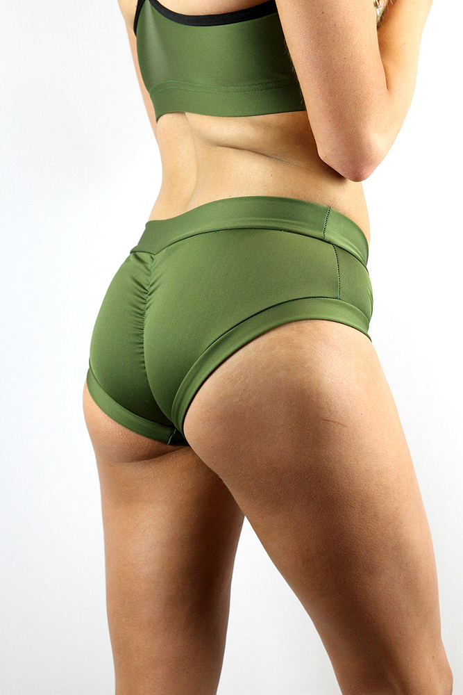 Rarr designs Olive Naughty Fit Shorts