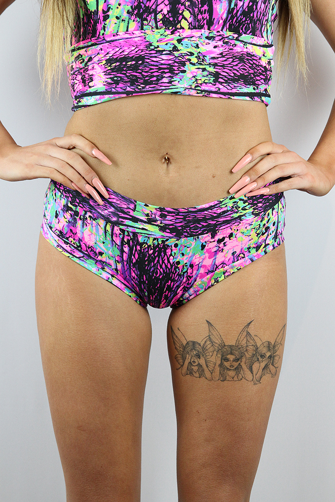 Rarr designs Mystic Pink Naughty Fit Shorts