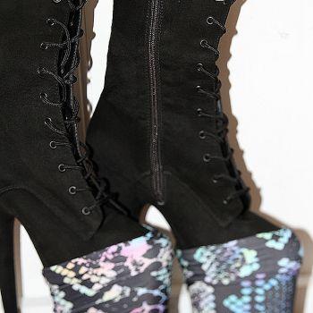 Rarr designs PASTEL PYTHON Shoe Protector