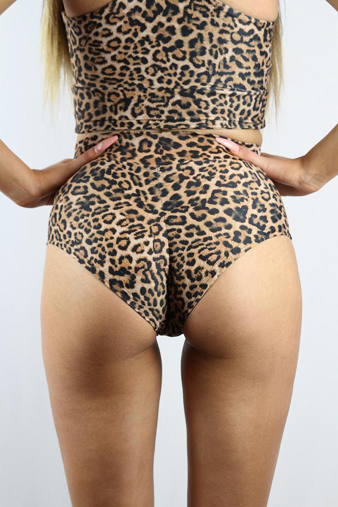 Rarr Designs ANIMAL High Waisted BRAZIL Scrunchie Bum Shorts