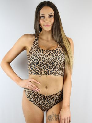 Rarr Designs Animal BRAZIL Fit Scrunchie bum shorts