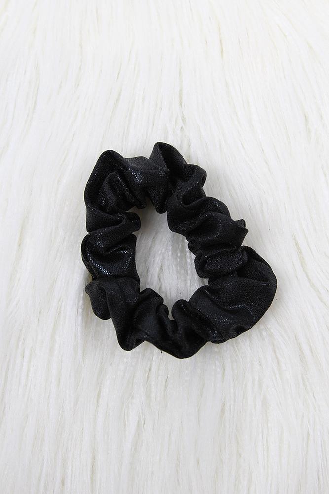 Rarr Designs Scrunchie Black Sparkle