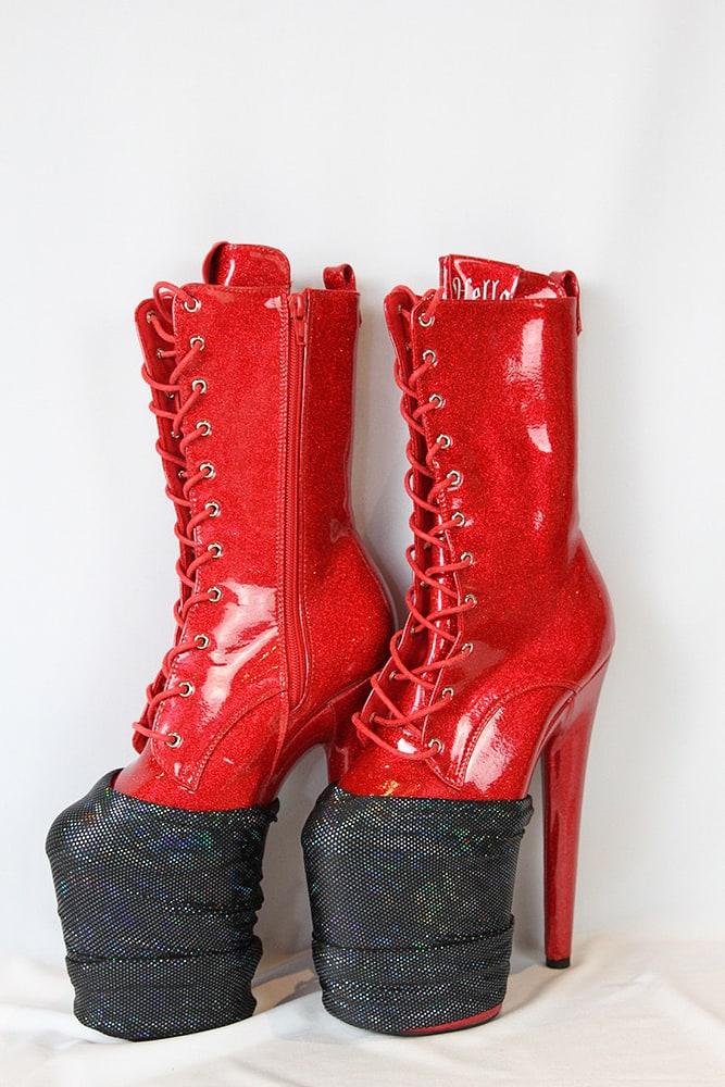 Rarr designs BLACK SHATTERED Shoe Protector