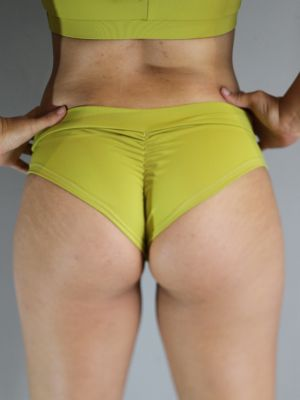 Rarr designs Citrine BRAZIL Fit Scrunchie Bum Shorts