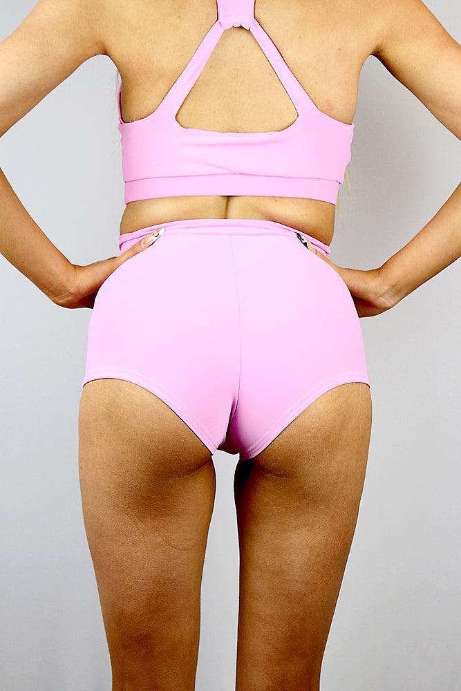 Rarr designs Peony High Waist Cheeky Shorts