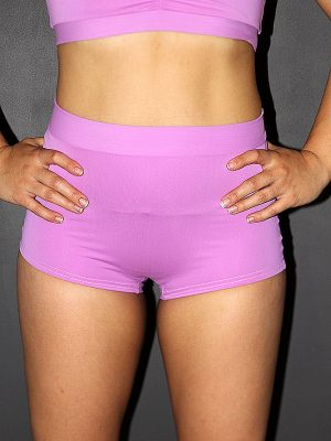 Rarr designs Orchid High Waist Cheeky Shorts