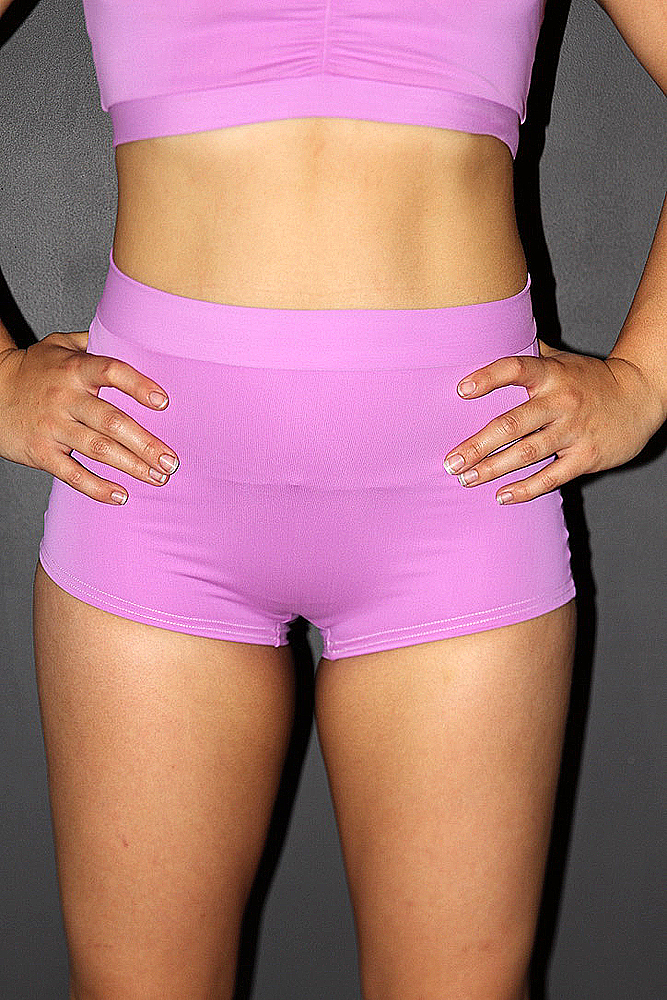 Rarr designs Orchid High Waist Cheeky Shorts
