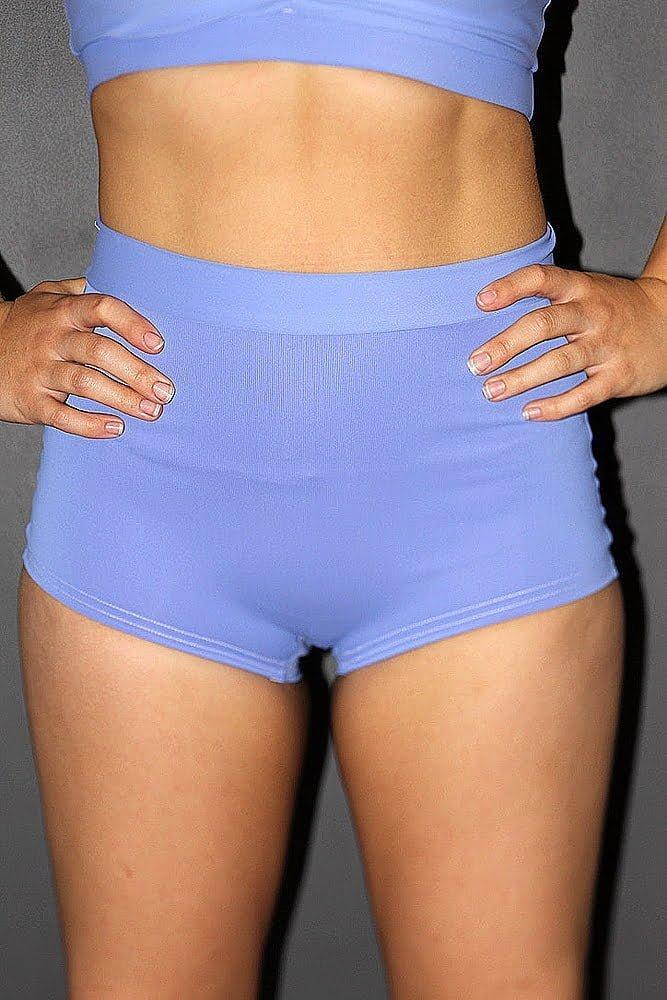 Rarr designs Cornflower High Waist Cheeky Shorts