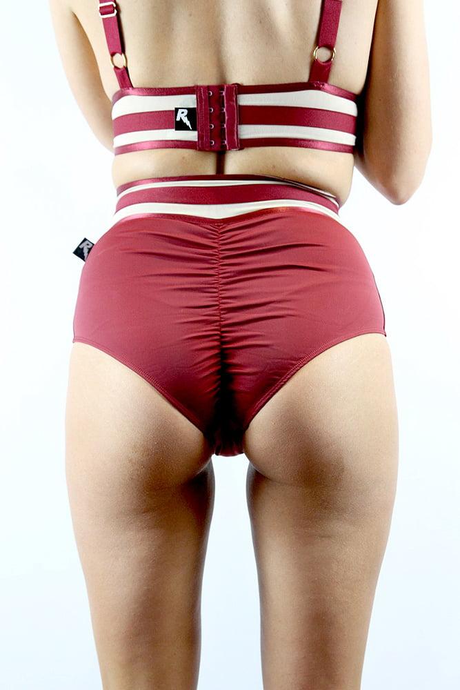 Rarr designs Flirtatious Super High Waist Short - Scarlett
