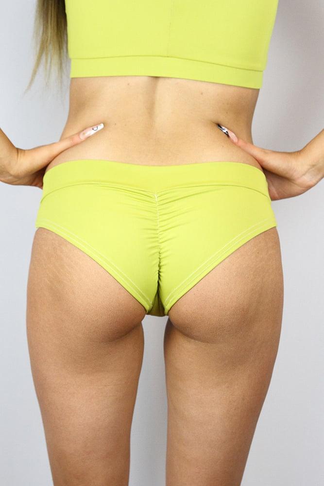 Rarr designs Citrine BRAZIL Fit Scrunchie Bum Shorts