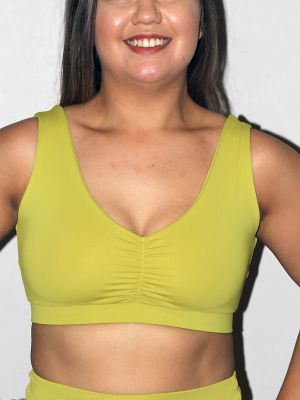 Rarr designs Citrine Sweet Scoop Sports Bra