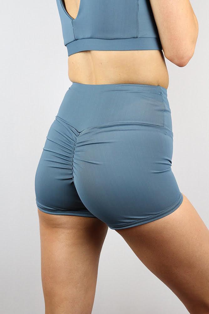 Rarr designs Smokey Blue Gym Short