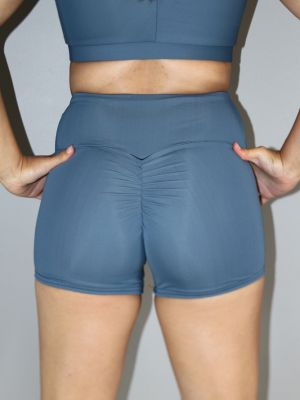 Rarr designs Smoky Blue Gym Short