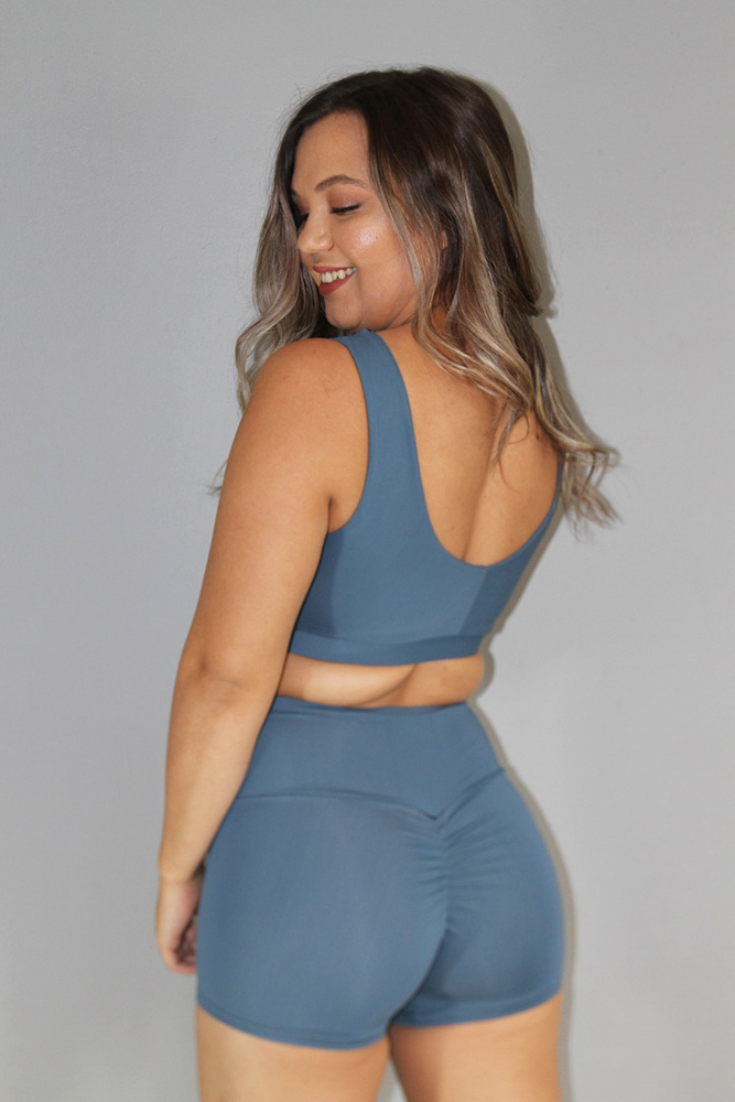 Rarr Designs Smokey Blue Sweet Scoop Bra