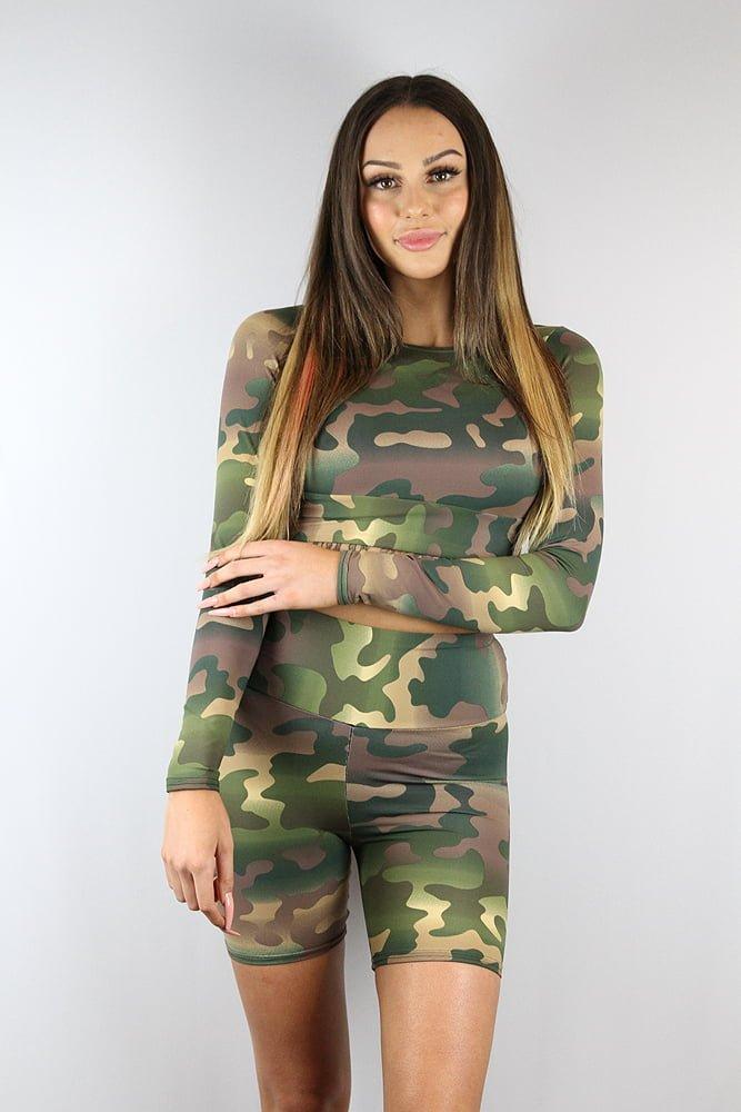 Rarr Designs Camouflage Bike Short