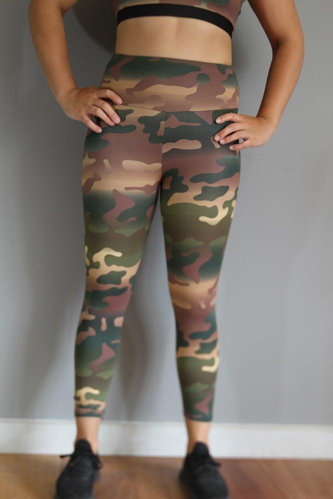 Camouflage 7/8 Tights Legging
