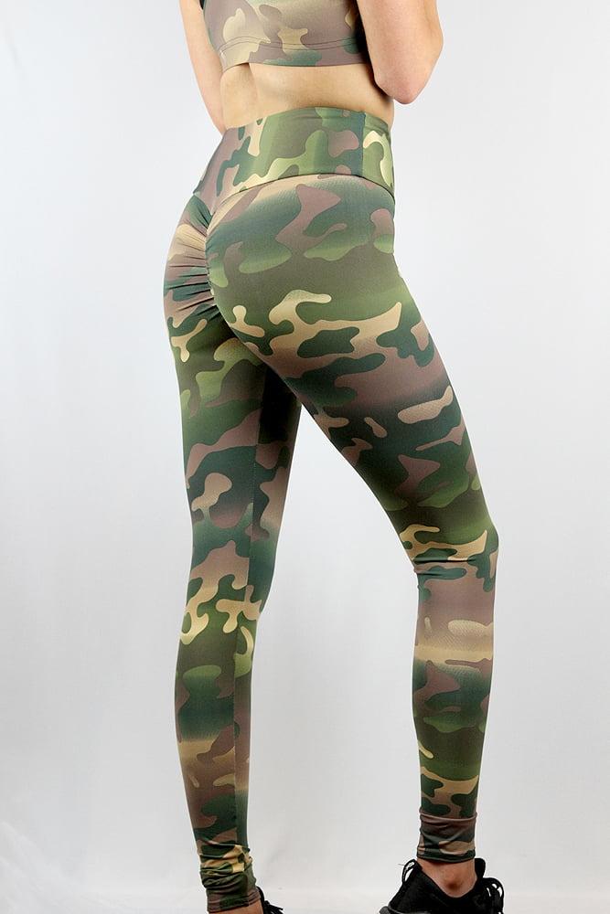 Rarr Designs Camouflage Full Length Leggings Tights