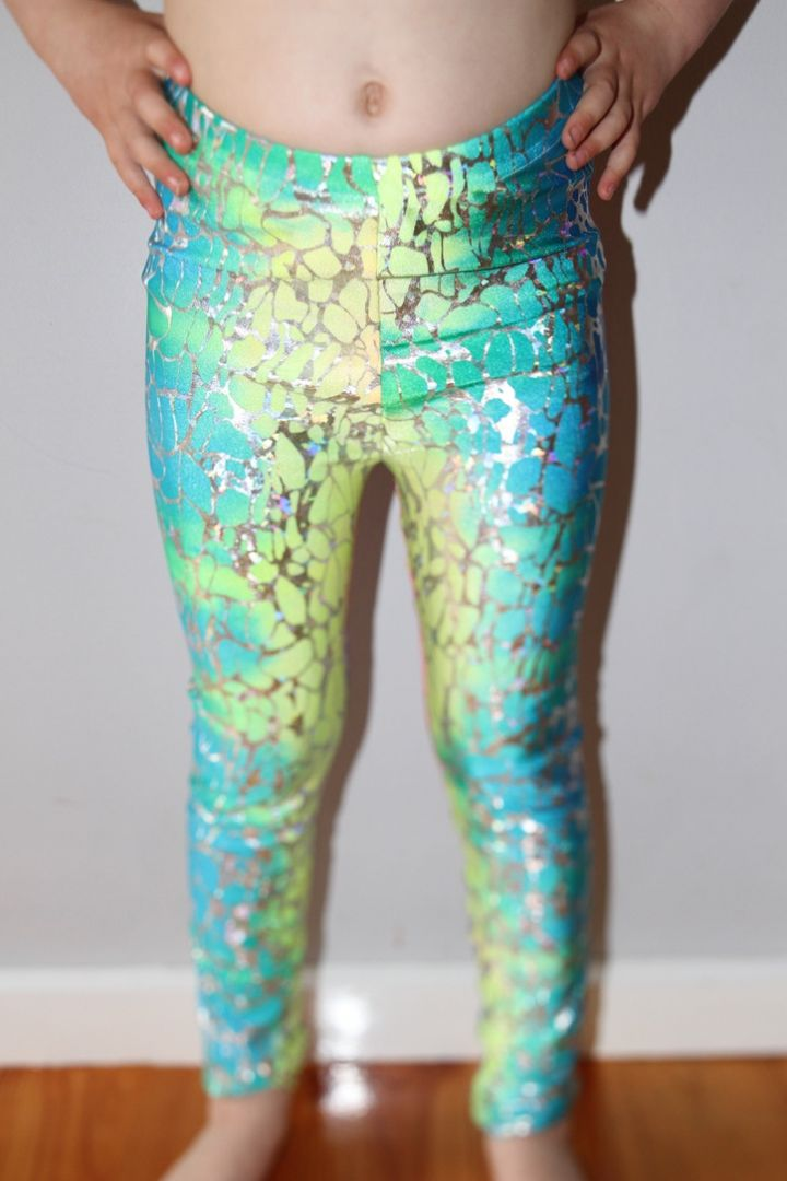 Kaleidoscope Youth Girls Leggings/Tights