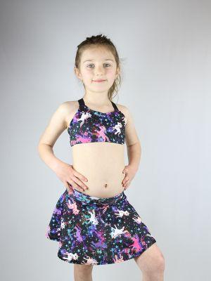 Space Pony Skater Skirt Toddler Girls