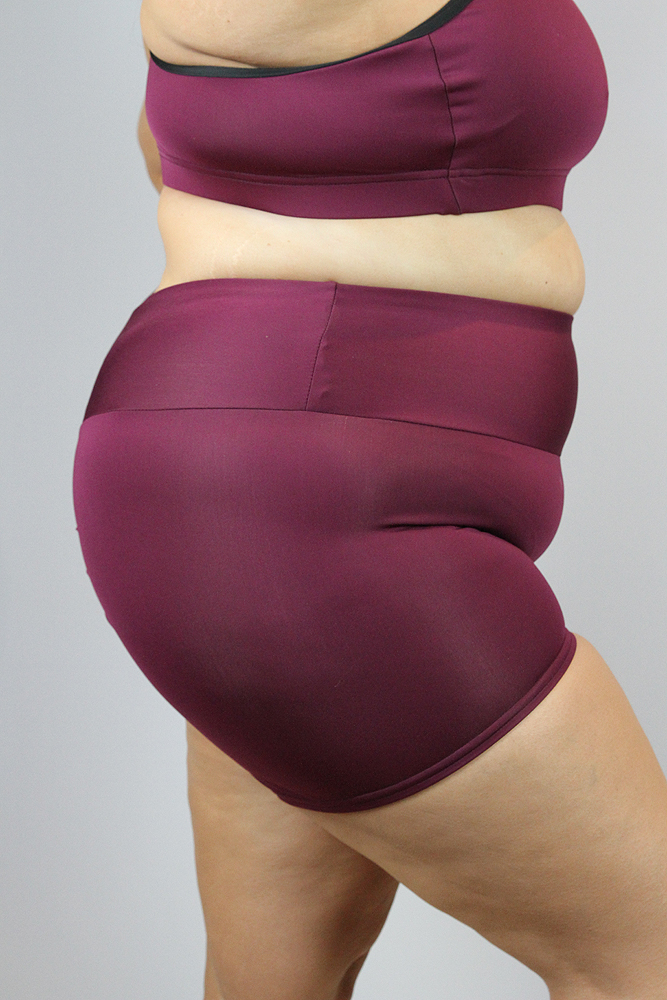 Rarr Designs Fig Gym Short - Plus Size