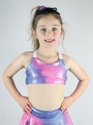 Candy V Sports Bra Youth Girls