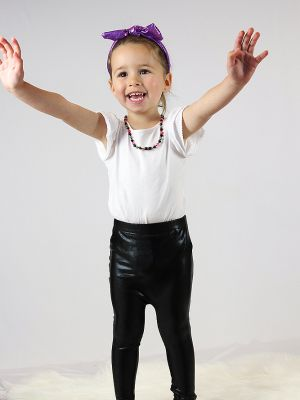 Black Sparkle Baby/Toddler Leggings/Tights