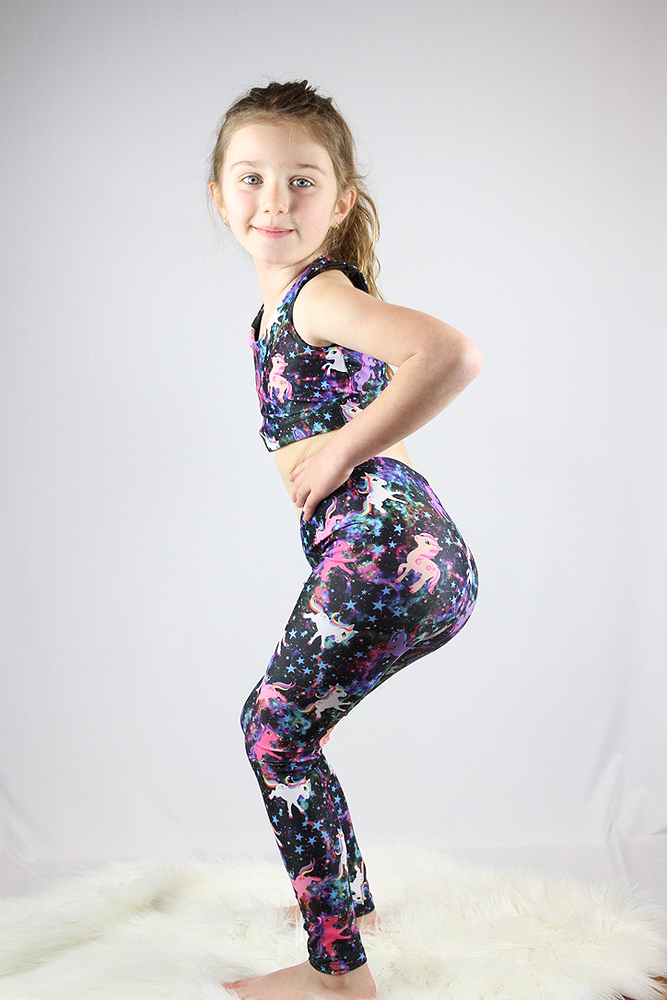 Space Pony Youth Leggings/Tights