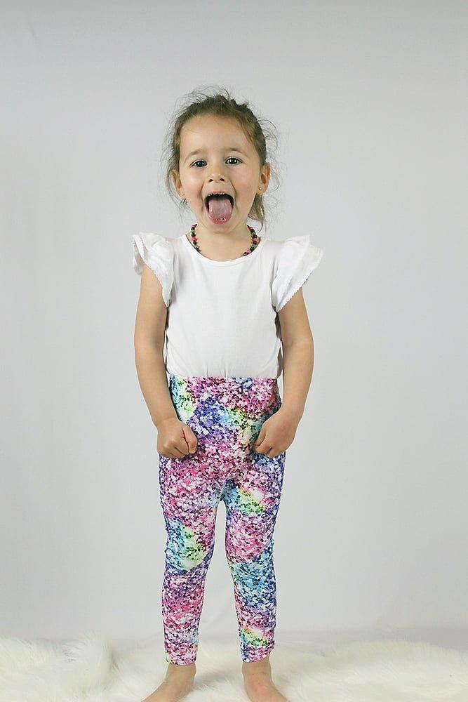 Glitter Baby Toddler Leggings/ Tights