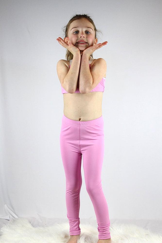 Peony Youth Girls Leggings/ Tights