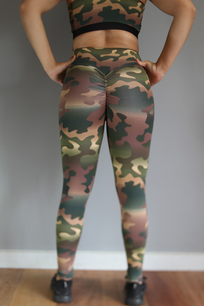 Camouflage Full Tights Legging