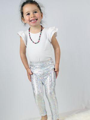 White Sparkle Baby/Toddler Leggings/Tights