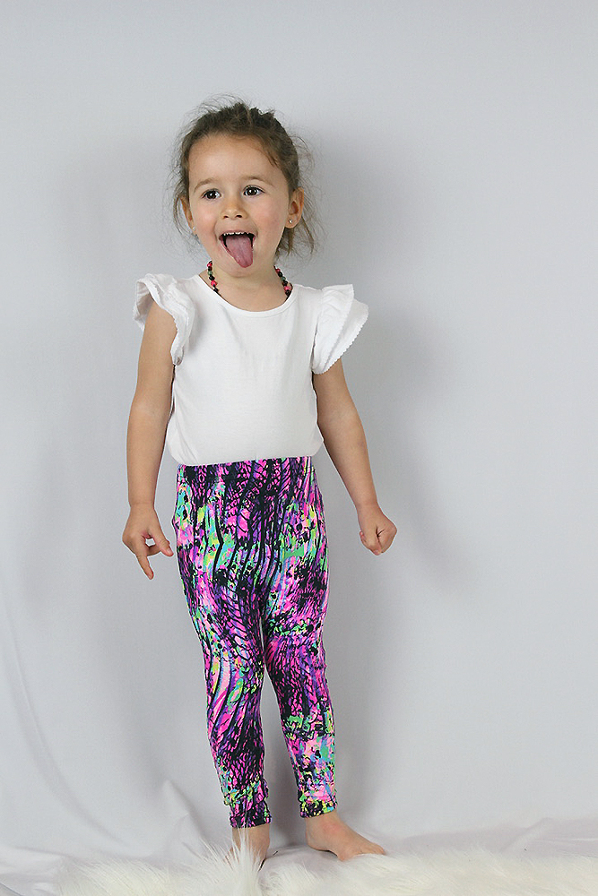 Pink Mystic Baby Toddler Leggings/ Tights