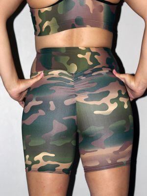 Camouflage Bike Short