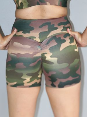 Camouflage Gym Short