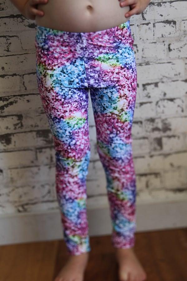 Glitter Youth Girls Leggings Tights