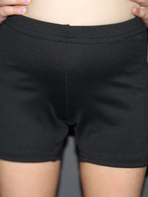 Matte Black Short Youth Girls