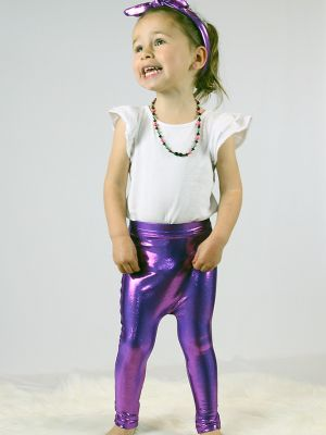 Purple Sparkle Baby/Toddler Leggings/Tights