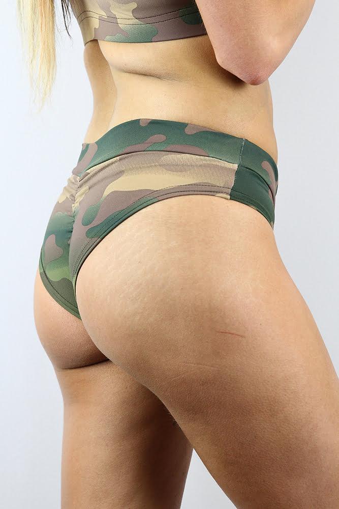 Rarr Designs BRAZIL Fit Scrunchie Bum Shorts