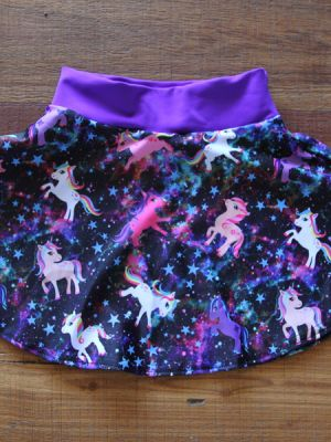 Space Pony Skater Skirt Toddler/Youth Girls
